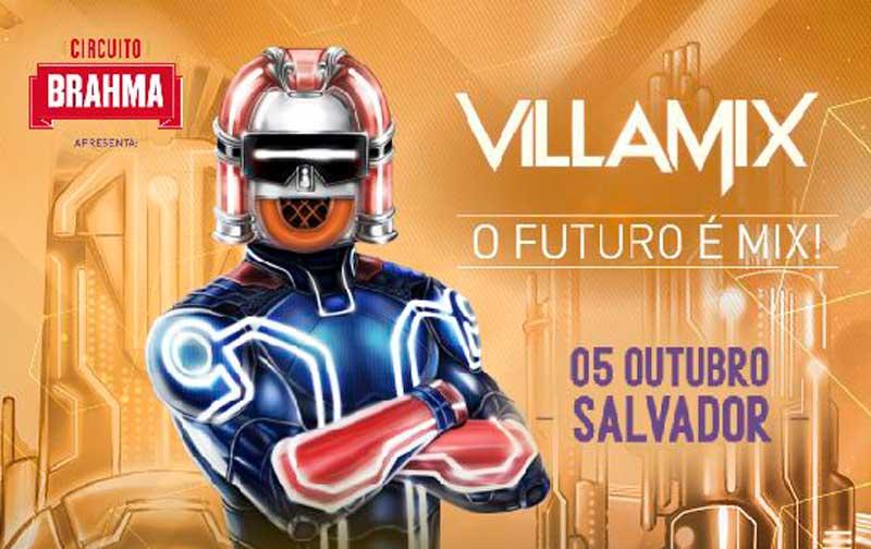Programação do Villa Mix Salvador 2019