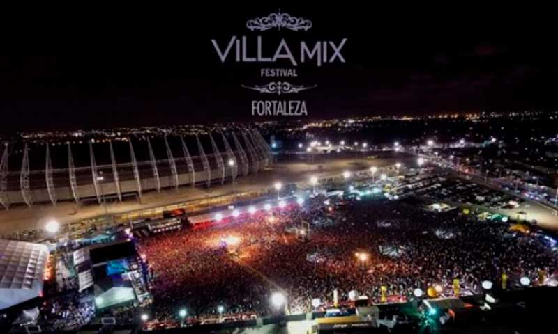 Atrações do Villa Mix Fortaleza 2019